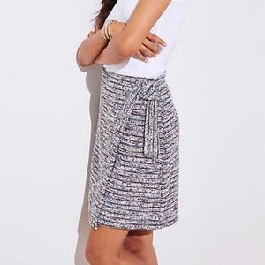 Marked Wrap Skirt